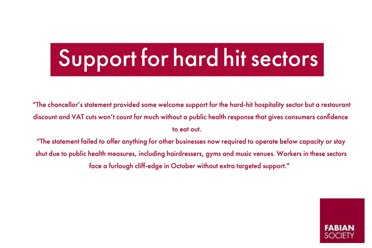 Support for the hard hit sectors https://t.co/h3uQ3jME9R