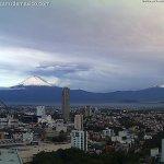 Image for the Tweet beginning: 🗻 ¡Buenos días! Así amanece