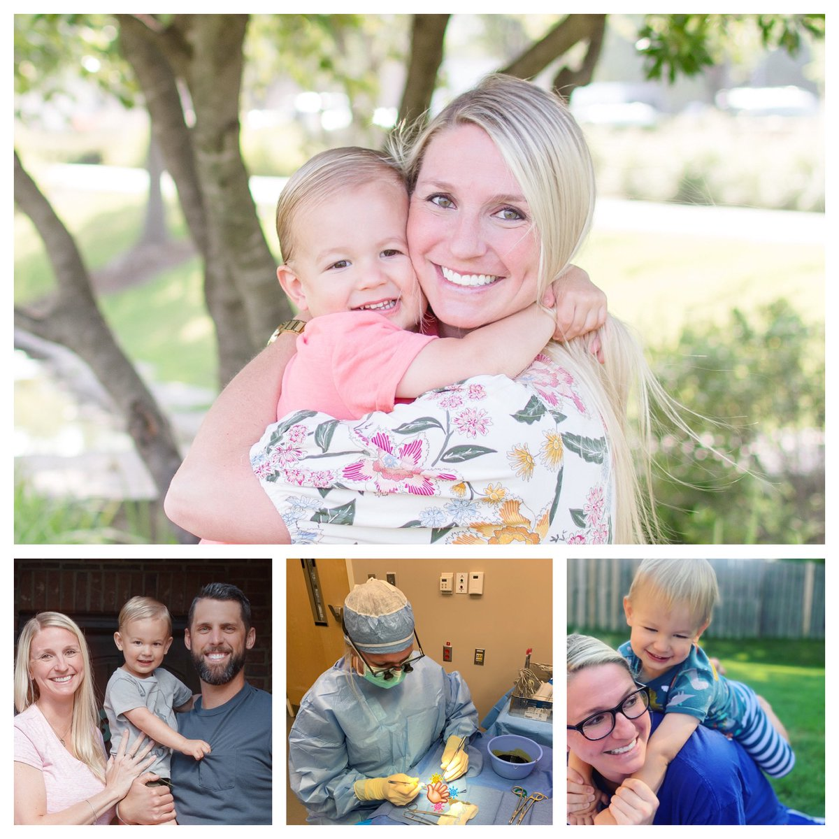 """Happy HBD to our Favorite Human! Hunt calls her """"mommy"""", patients call her """"Doctor""""  and I call her """"Wonder Woman"""" #doctormom #shesthebest #HBD #loveyou pic.twitter.com/PwxhQ0Z3ls"""