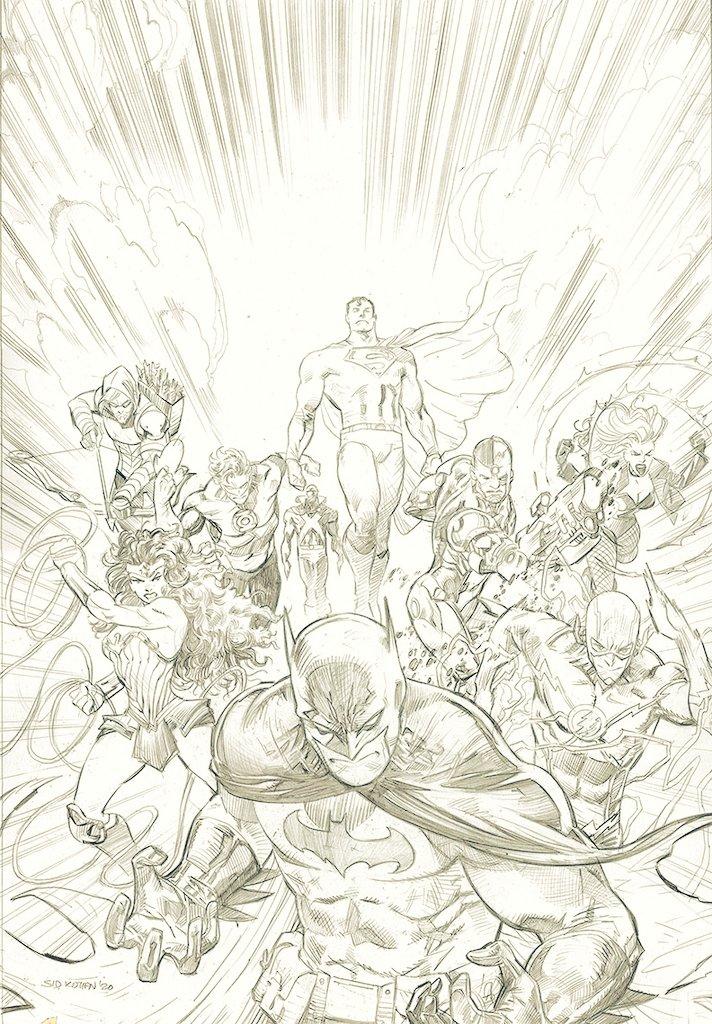 As promised #JusticeLeague #comicart #dccomics #batman #superman #ArtistOnTwitter #flash #wonderwoman