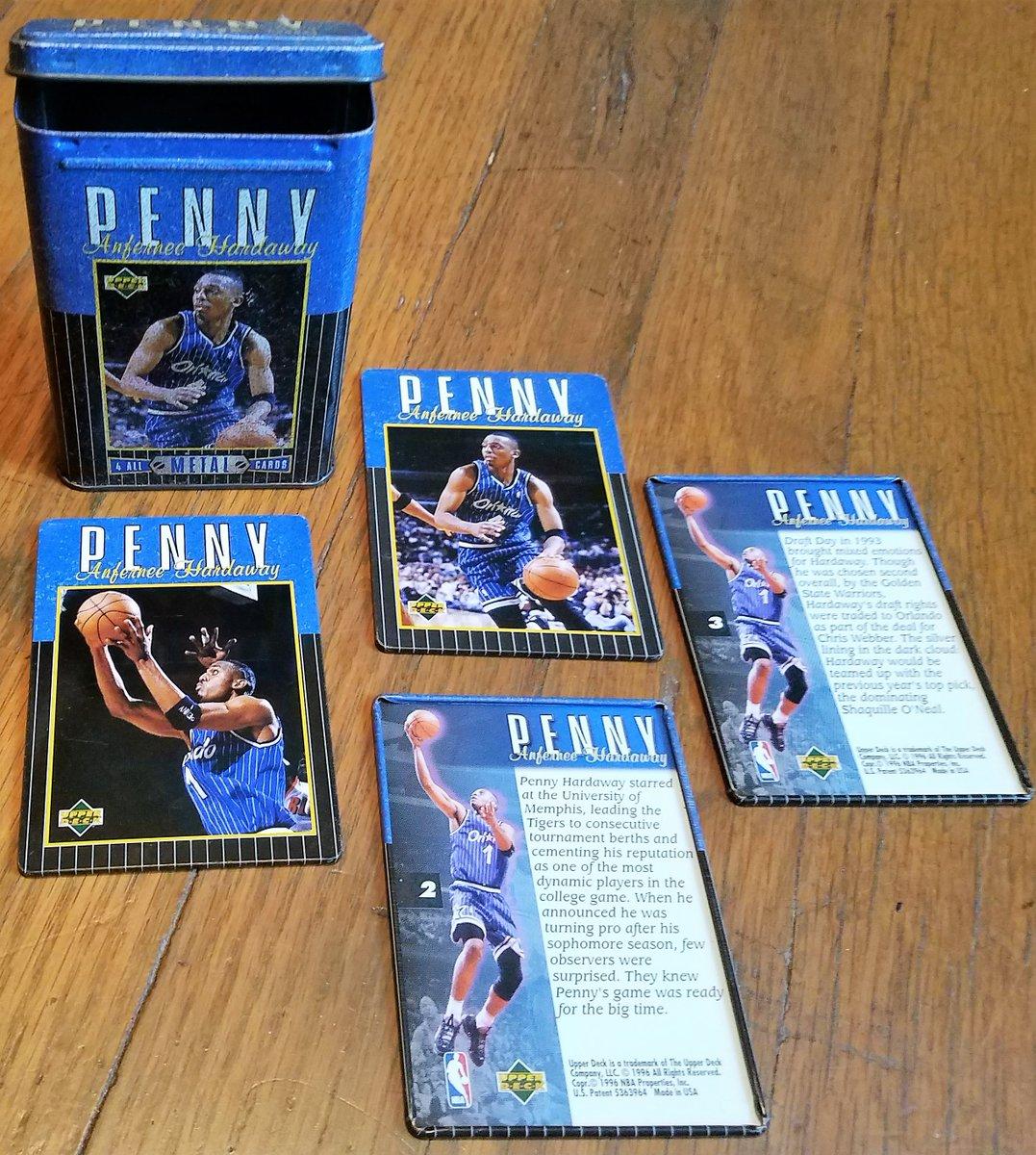 #Magic  PENNY AFERNEE HARDAWAY (4) ALL METAL CARDS 1996 UPPER DECK/#NBA #SportsCards  https://t.co/tg0iCGRtXb https://t.co/kGnPU45joi