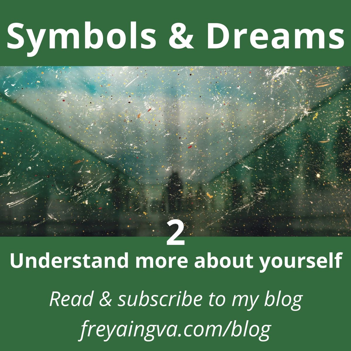 Understand more about yourself #reading the second part of #Symbols & #Dreams #Read on https://www.freyaingva.com/blog  #symbol #dream #selfhelp #resource #knowledge #innerknowing #FridayWithFreya #blog #bulletin #diviner #dowser #oracle #tealeafreader #divining #dowsing #tealeafreadingpic.twitter.com/MLJblLWPlN