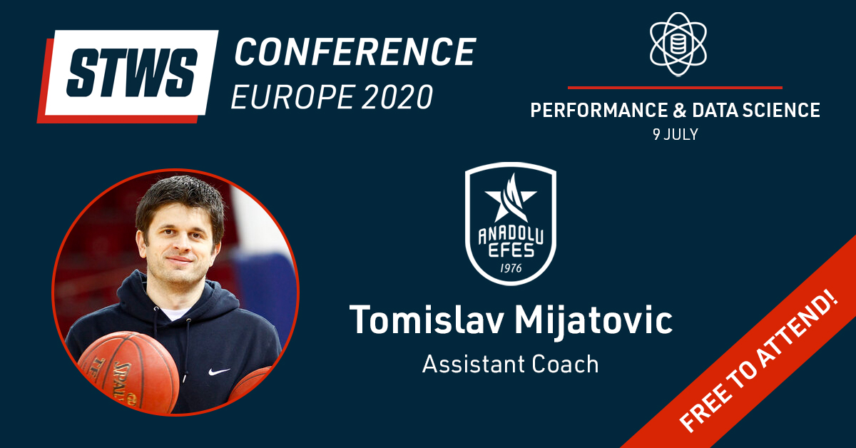 A reminder for our @sportstechws webinar Thursday 9th July, 11:30 CET  We're joined by Tomislav Mijatovic from @AnadoluEfesSK and Emilio Kovačić from @fcb_basketball to discuss how video, data & analytics are changing the game.   Register (for free) here: https://t.co/tfRL4N0bWs https://t.co/TzcK9XnQeu