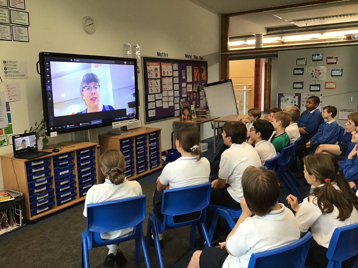 #JSVY6 learnt a lot from a Q and A session with Jerry Rayner at SSV today in preparation for their transition in September. pic.twitter.com/fAbXLBX5KW