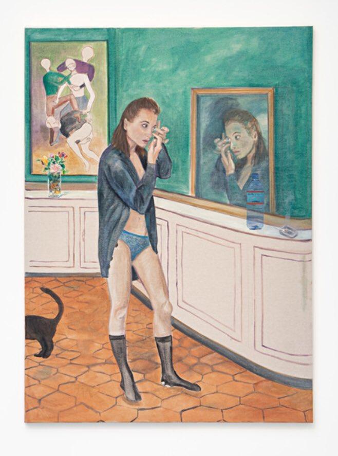 🗓Daily Artist/ Artista del Giorno: ✅Jill Mulleady 📌'Interior', 2019 (part of a diptyque) 📍Biennale di Venezia 2019 Read more➡️ https://t.co/MLmgb7SeBr  #art #arte #artista #emergente #EmergingArtists #artonrwitter #artecontemporanea #contemporaryart #contemporaryartist https://t.co/9i0iPgsixs