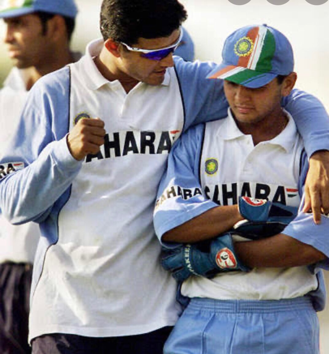 Dear dada, Thank you the guidance, leadership, and endless support..@SGanguly99 #HappyBirthdayDada🎂:@Parthiv9!  Go ahead always spend better your life with family members & faith till last breath 4humanity! #ICCHallOfFame #CricketConnected #BCCI @BCCI @ICC #Cricket #ICC #EngvWi! https://t.co/bt9QEsRZ4M
