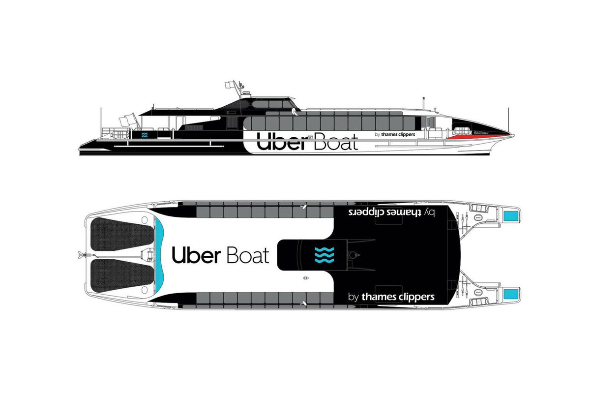 Uber to offer boat rides in London as new commuter service
