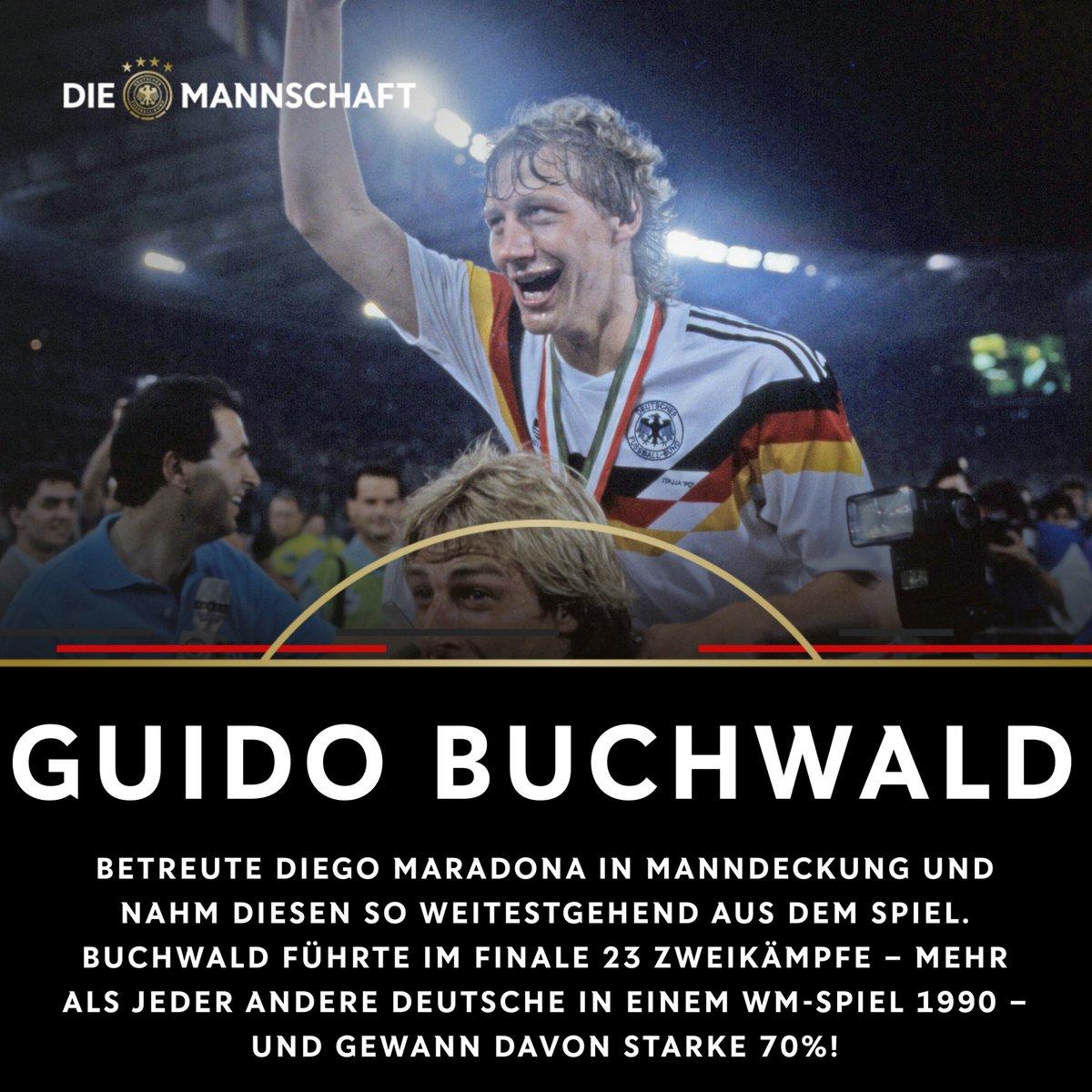 Bärenstark, Guido Buchwald! 💪  Weitere Fakten zum WM-Finale 1990 - vor genau 3️⃣0️⃣ Jahren - lest ihr hier ➡️ https://t.co/Zv31fk5Ja5  #Throwback #30Jahre⭐⭐⭐ https://t.co/RXljgFknSf