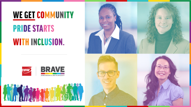 In celebration of #PrideMonth, CDW's BRAVE BRG hosted a virtual panel discussion on the power of community within the #LGBTQ+ community at CDW and beyond. Read highlights from the conversation here: #cdwsocial https://t.co/jcTeoGBHIf https://t.co/Ilgylq5WSw