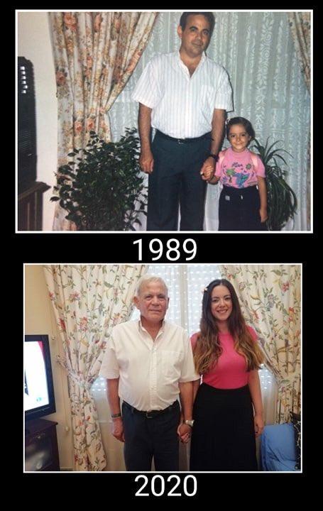La misma foto 31 años después. https://t.co/BJa5sTXIG1