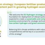 Image for the Tweet beginning: Press release 👉  #HydrogenStrategy #hydrogen #EUGreenDeal