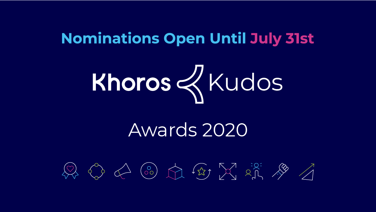 Calling all Khoros customers! Four weeks left to submit your story for a Khoros Kudos Award. 11 award categories to choose from and winners will be highlighted at our virtual Engage conference in October in front of 500+ industry peers! https://t.co/T1EVTWi1LB https://t.co/yDSUiEiL6D