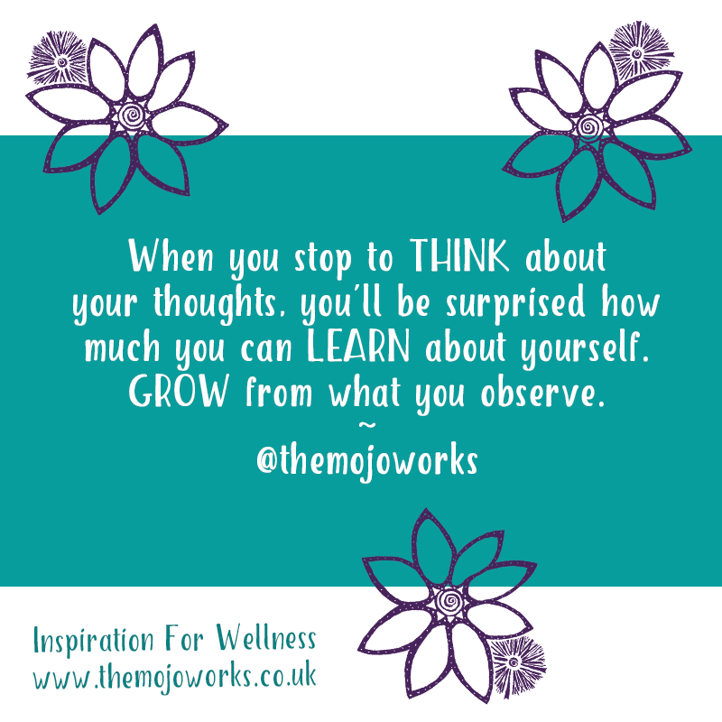 Thinking about what you #think about! Quiet the #mind, observe the nature of your #thoughts! Do you like what you see/hear? When you notice, you know! http://www.themojoworks.co.uk  #mindfulness #meditation #positiveaffirmations #selftalk #selfcare #selfhelp #wellness #ThoughtOfTheDaypic.twitter.com/OfKNqJDkmM