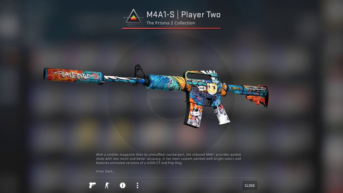 M4A1-s | Player Two   ✅Retweet & Follow me https://t.co/OdlLnb59Nu