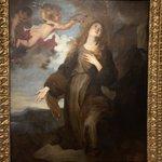 Image for the Tweet beginning: Santa Rosalia coronada por ángeles,