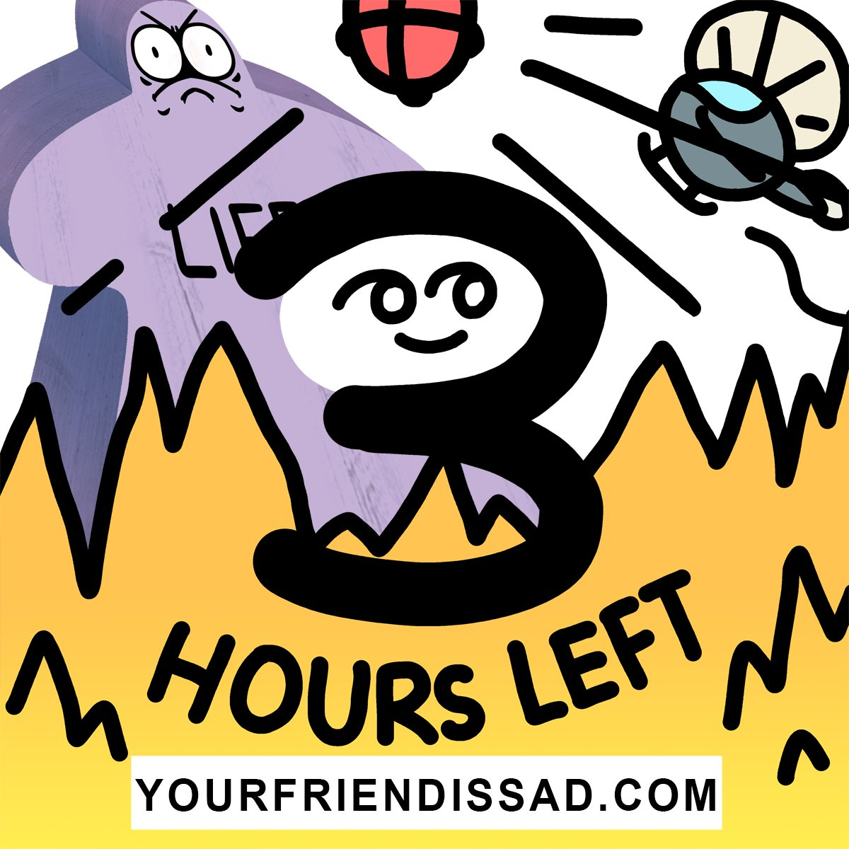 3 HOURS REMAIN. THAT'S BARELY ANY HOURS kickstarter.com/projects/drink…