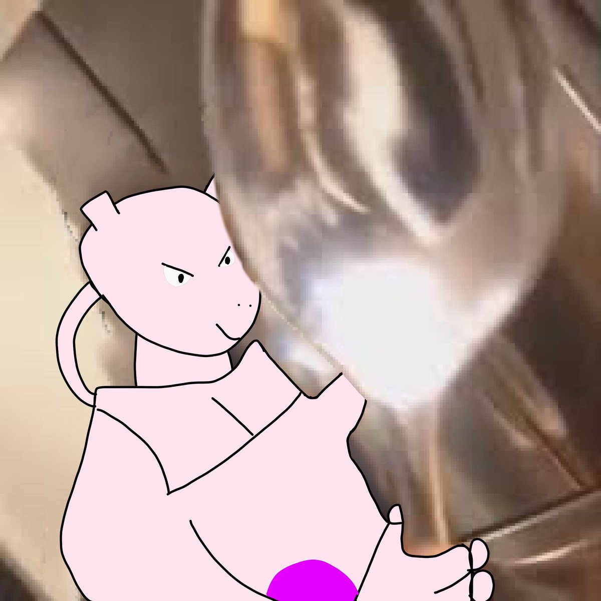 Friendly reminder that Mewtwo indeed canonically has a comically large spoon <br>http://pic.twitter.com/HuCzIaYFdR