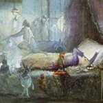 Image for the Tweet beginning: Dreams (1857-58) by John Anster