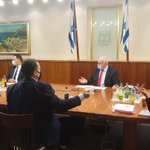Image for the Tweet beginning: Prime Minister Benjamin Netanyahu is