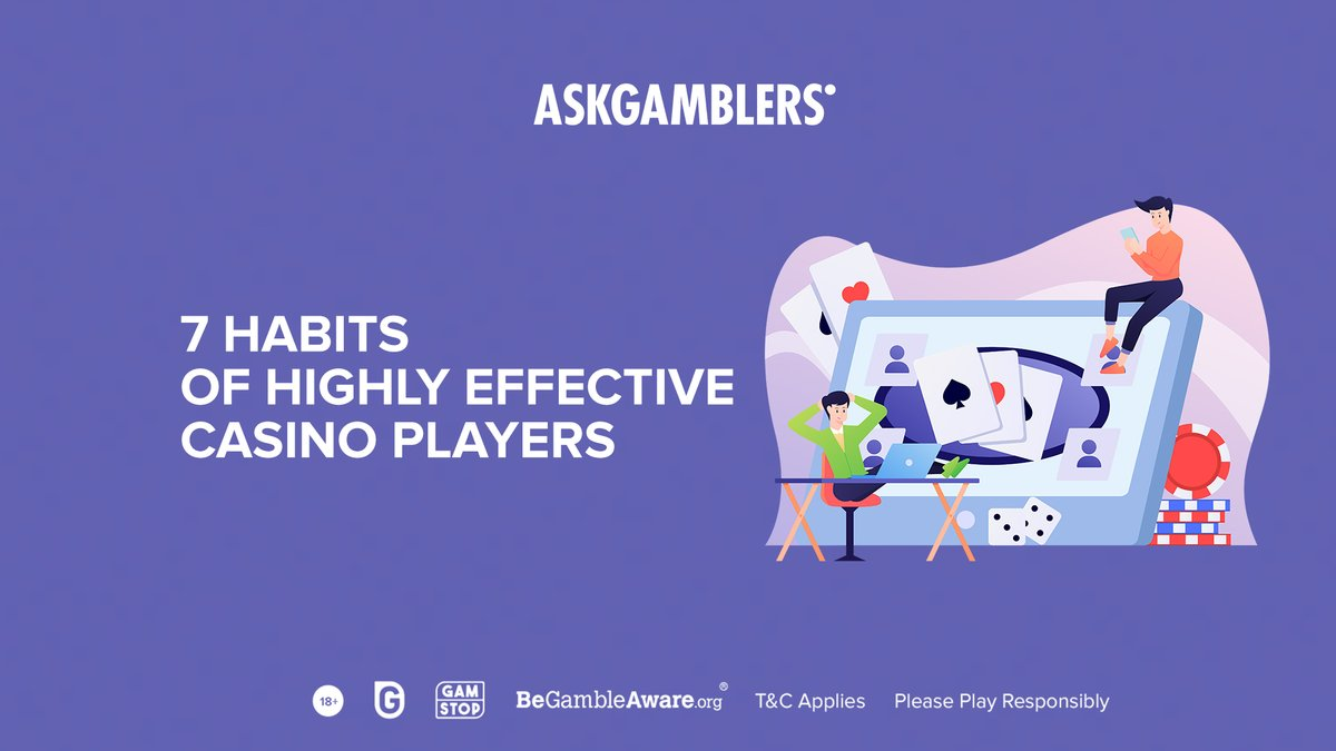 Keep these tips in mind the next time you play and you'll be well on your way to being the best player you can be:  1) Self-Control  2) Positivity  3) Money Management Skills  4) Clear Goals  5) A Realistic Attitude  6) Patience  7) Adaptability  #AskGamblers #casinoplayer https://t.co/EZ2a0Sjsw4