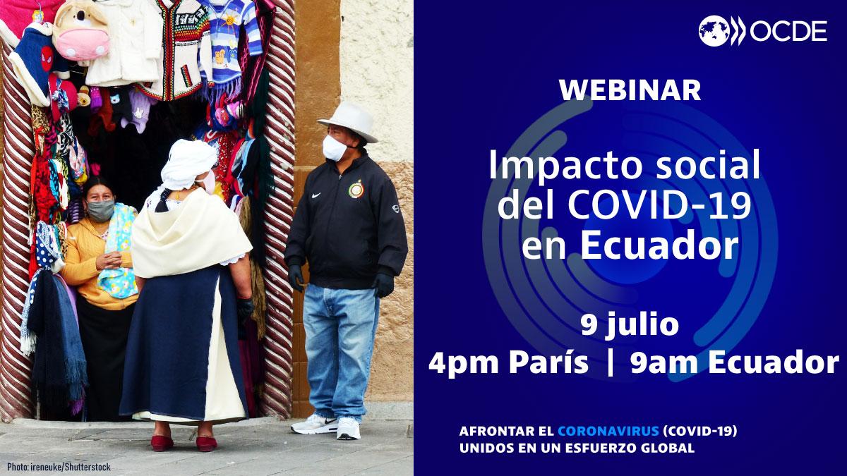 """ÚNETE AL LANZAMIENTO de nuestra nota """"#Impactosocial del #COVID19 en Ecuador: Desafíos y respuestas""""  🗓️9 julio: 9am Ecuador ✅Registro: https://t.co/XwSBr0j2ya  Es parte de nuestro trabajo con @UEenEcuador, @FinanzasEcon & @europeaid – Facilidad de #DesarrolloenTransicion https://t.co/GAPlvisWwp"""