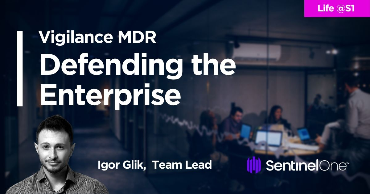 👉 Meet Igor! Get a unique glimpse behind the scenes of a world-class MDR service. What happens on a day-to-day basis, what challenges are faced, how do you get hired?  https://t.co/I0HVEBqeD6  #lifes1 #s1 #Vigilance #mdr #infosec #secops #mitre #iotsecurity #security #mssp #ciso https://t.co/2l1QWLmhmA
