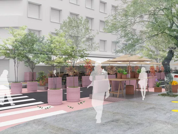 """O projeto-piloto """"Ocupa Rua"""" propõe o uso de calçadas e vias públicas por bares e restaurantes durante a reabertura. A ideia começará a ser implementada pela Prefeitura de SP na região da República. Saiba mais:  https://t.co/glFq2gbIyW https://t.co/WQwpCecg21"""