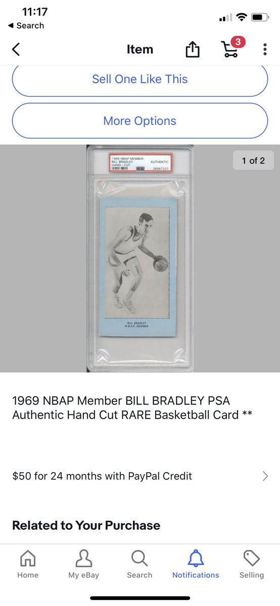 Just bought this ... it's so neat .. I love weird cards ❤️❤️🏀 https://t.co/NV7c72GVXO
