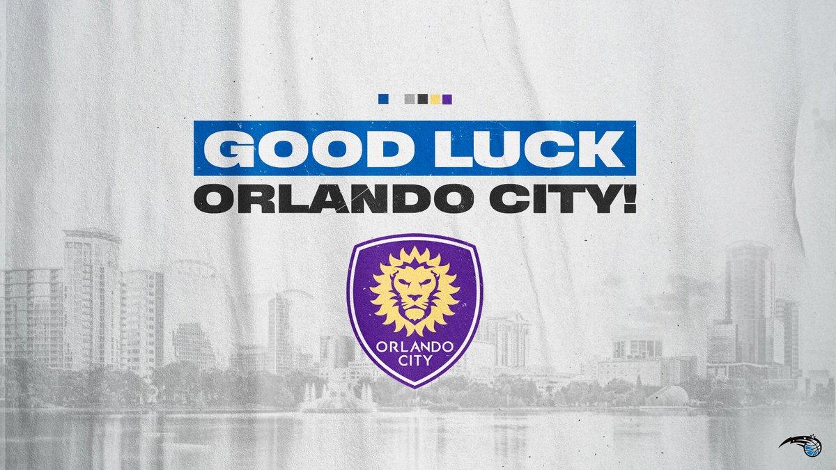 Good luck, @OrlandoCitySC! https://t.co/lRdlfrln8l