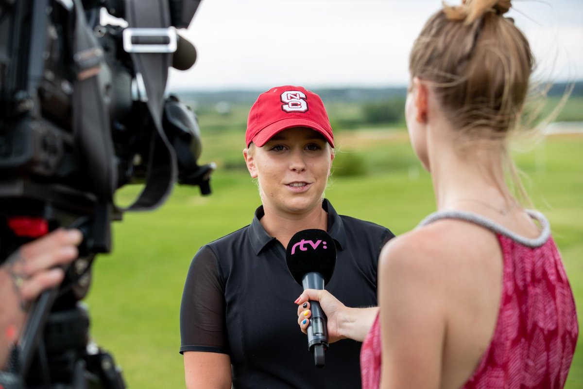 Super proud of our girl Lea for KILLING IT on the course this past weekend. She won the Slovak Amateur Tour with an eight-under 208. https://t.co/BuUJdWIUd8