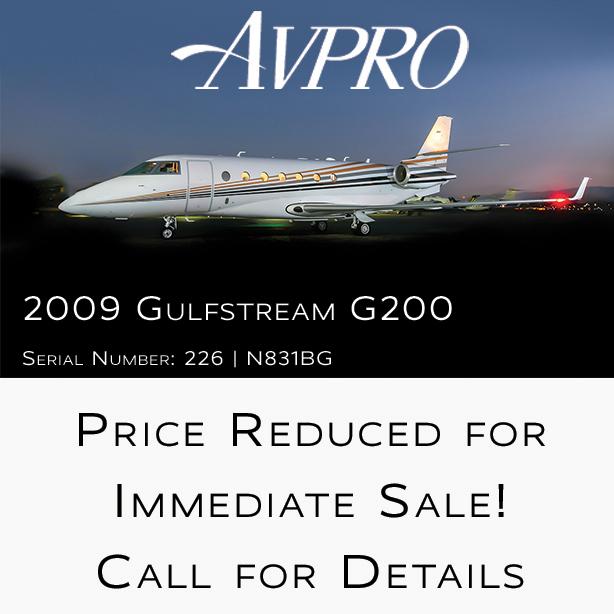 New pricing - 2009 #Gulfstream #G200 at @AvproJets  Engines on P&W ESP FAR Part 135 ready More details at: https://t.co/YaUGeuxu0y  #bizjet #bizav #aircraftforsale #privatejet #privateflying #jetforsale #businessaviation https://t.co/DxSQltxaRZ