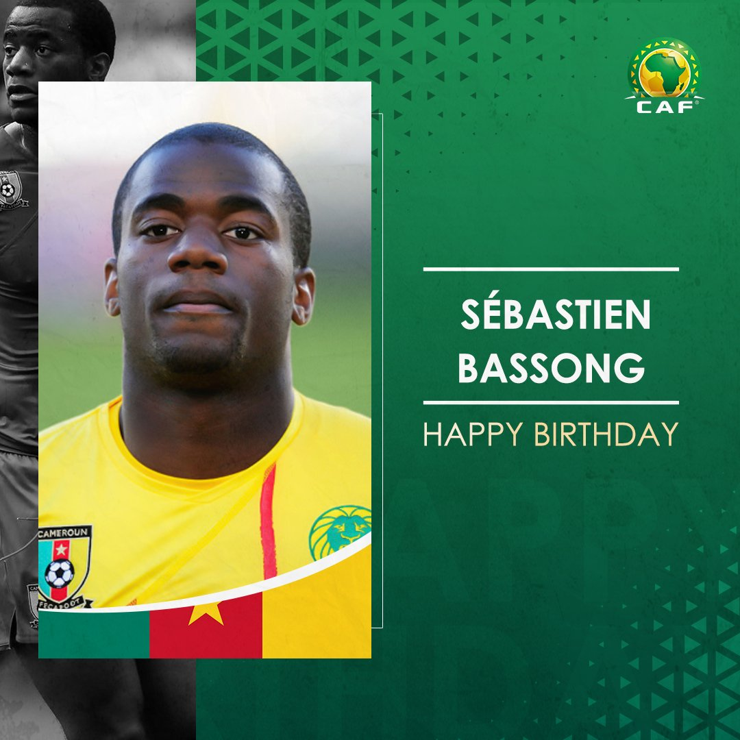 🇨🇲 Happy Birthday to Cameroonian defender Sébastien Bassong! 🎉 Best wishes! 🎂
