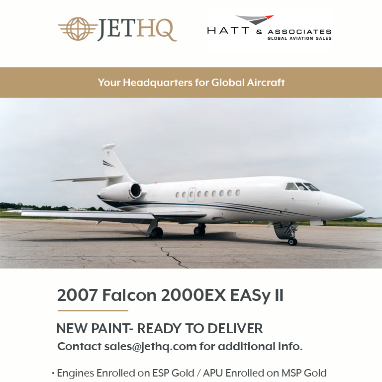 2007 #Falcon #2000EX #EASy II available at @JetHQAv   New paint Engines enrolled on ESP Gold More details at: https://t.co/SisrujduwX  #bizjet #bizav #aircraftforsale #privatejet #privateflying #jetforsale #businessaviation https://t.co/I3Hy6pgLsn