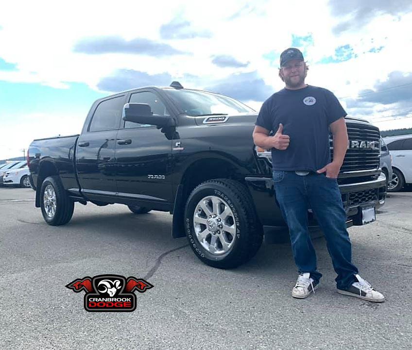 Congratulations to Cody on his new #Ram 3500 HO #Cummins #truck! #RamCountry #RamAdventure #HeavyDutyTruck #Ram3500 #CumminsEngine http://www.cranbrookdodge.capic.twitter.com/wciHSUd8Ab