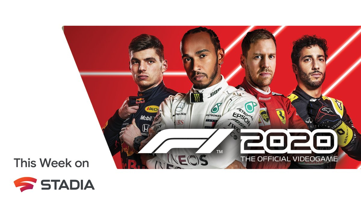Strap yourself in, embrace your inner driver, and shift gears into intense Formula 1® competition as #F12020 arrives on Stadia.  Check out our blog for all the details: https://t.co/PuZR41KfxD https://t.co/9rcgAgAU9H
