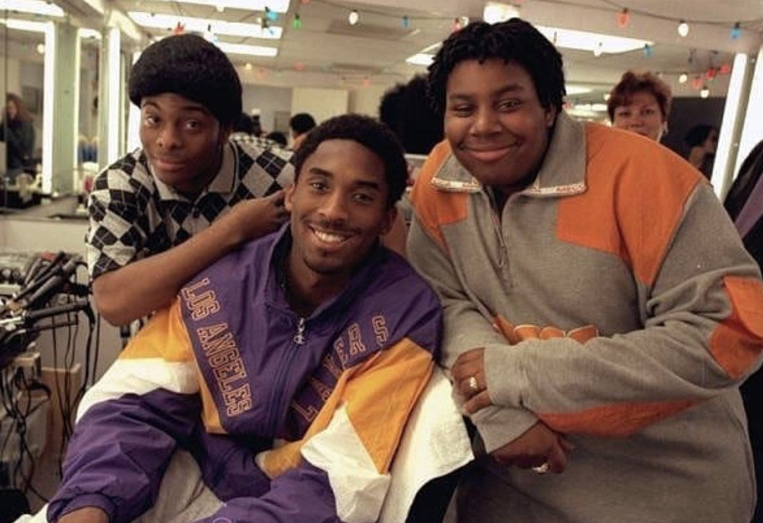 Kobe with Keenan and Kel in 1998. 📸
