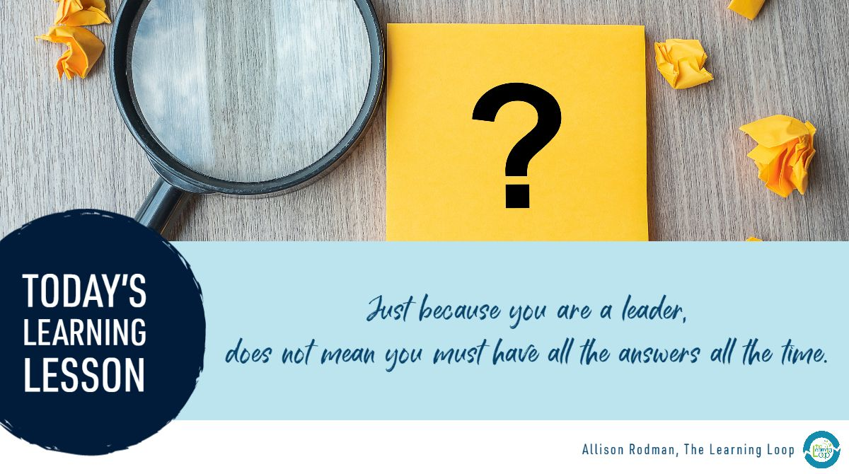 Today's #personalizedPL #LearningLesson: How do you admit that you are still figuring things out?   How have you connected with others in your professional community for greater insight and knowledge? https://t.co/8nh4uiWJ82