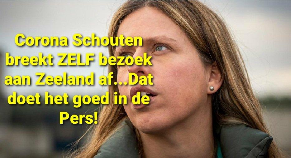 #boerenprotest Voor alle duidelijkheid, Madame Schouten breekt ZELF haar bezoek aan Zeeland af! Er waren helemaal geen ongeregeldheden! Ze weet dat dit in de Media komt en die + de rabiate Linkse politiek, weten daar wel raad mee; expres om de Boeren in kwaad daglicht te stellen! https://t.co/v3ilw8XHSO
