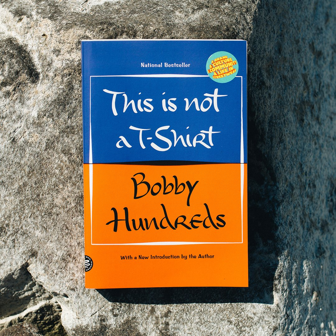 You can now buy the *paperback* edition of my memoir, This Is Not a T-Shirt. linktr.ee/bobbyhundreds