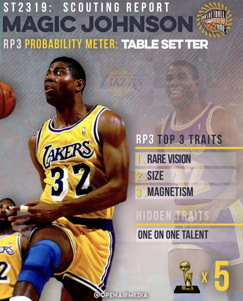 "My scouting report on @MagicJohnson in my sit down with @IsiahThomas is one of a kind. Zeke breaks down Magic's game in great detail. Full interview here. Magic was the ultimate ""Table Setter"" https://t.co/LRyYlNfnnL https://t.co/YKDhNhkf7e"