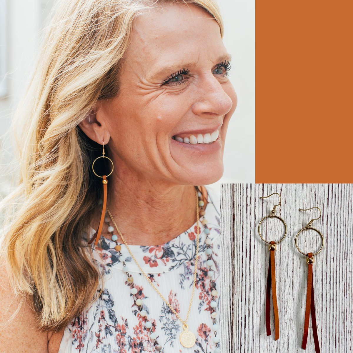 Add some length and free-spirited vibes to your style with these lightweight earrings! Order here http://bit.ly/2AsKmcH  w/free shipping. #earrings #jewelry #leather #tasselearrings #giftideas #outfitdetails #styleinspopic.twitter.com/iqCKrPRrvf