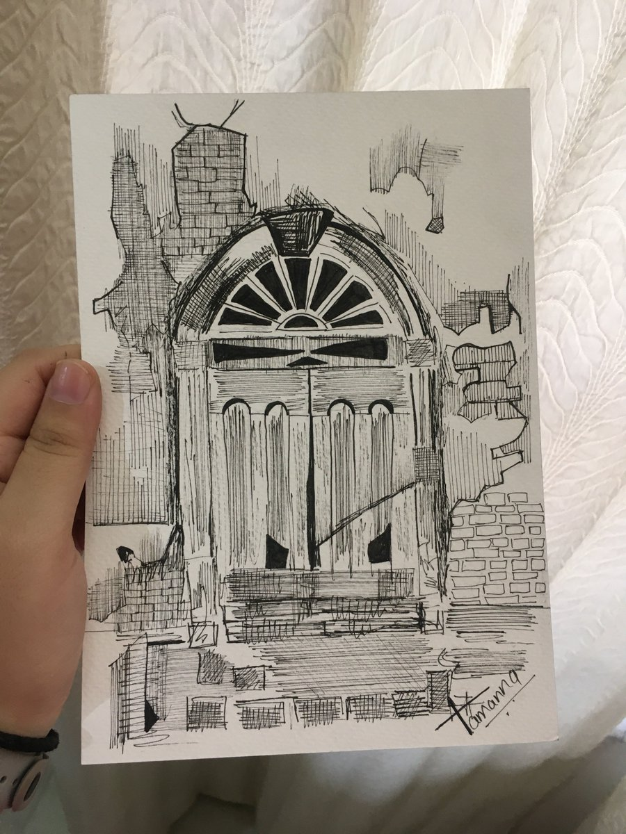 window sketching...........#artistsontwitter #blackpenssketch #Sketching #artists #artxdesign #linedrawing pic.twitter.com/B886fwIZRP