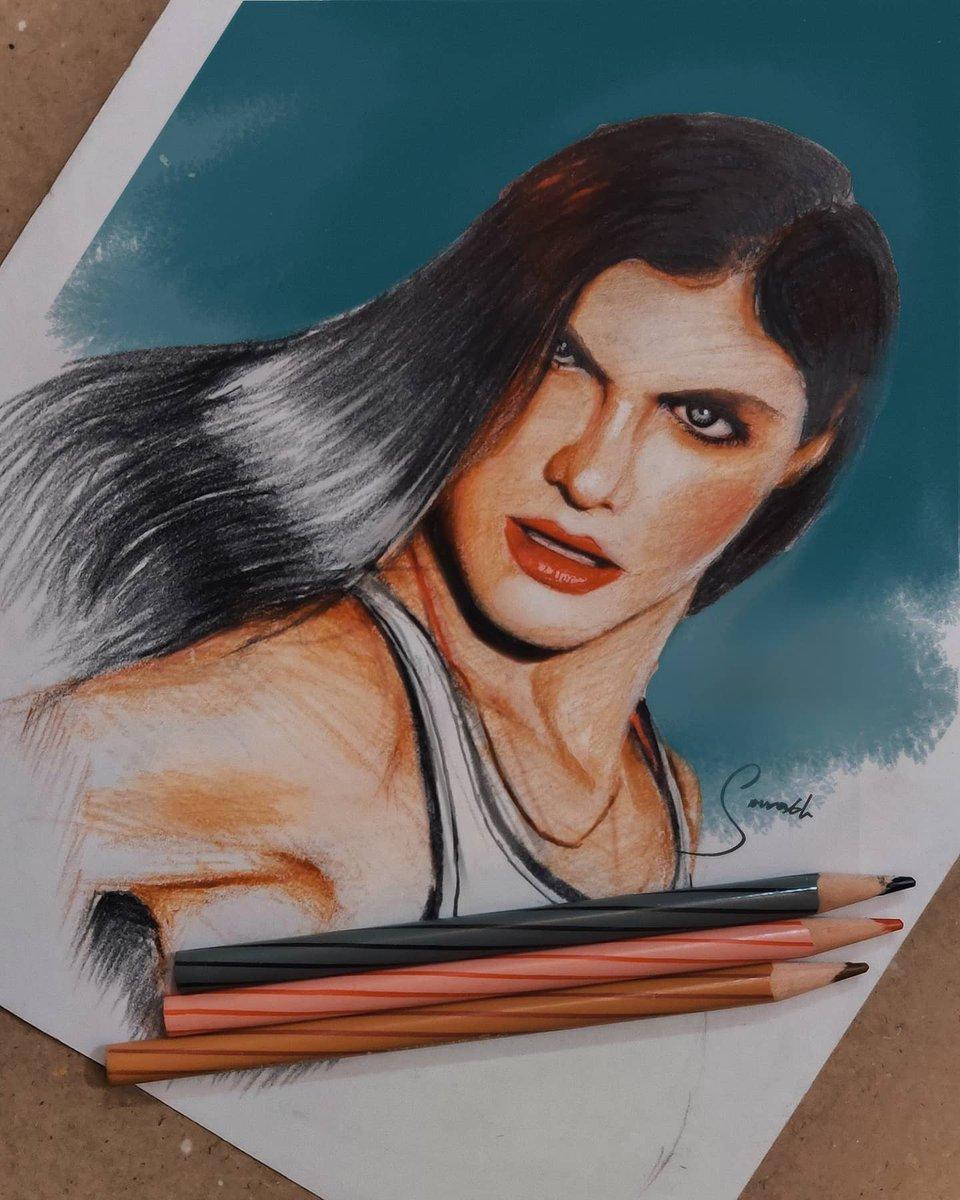 ALEXANDRA DADDARIO #pencilsketch #painting #AlexandraDaddario  @ArtistAloudpic.twitter.com/bGSAgQSSTy