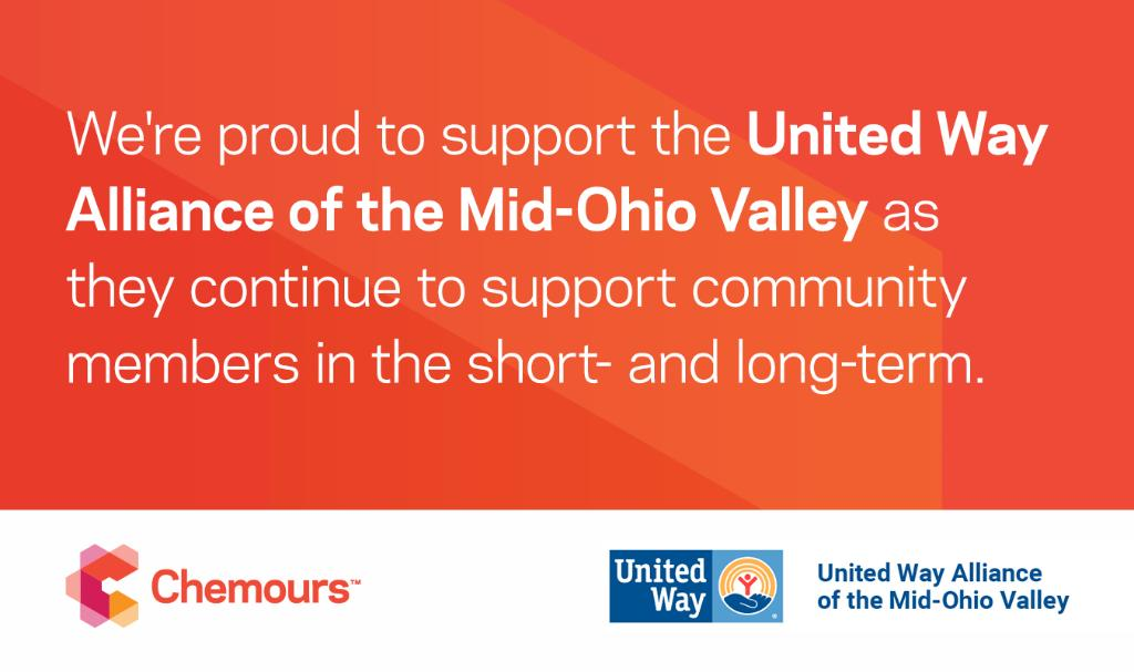 The effects of #COVID19 have been wide-ranging. That's why we're proud to partner with the @UnitedWay of Mid-Ohio Valley as they continue to provide essential resources to support affected community members. We are in this together. https://t.co/UvOpYPD1QK