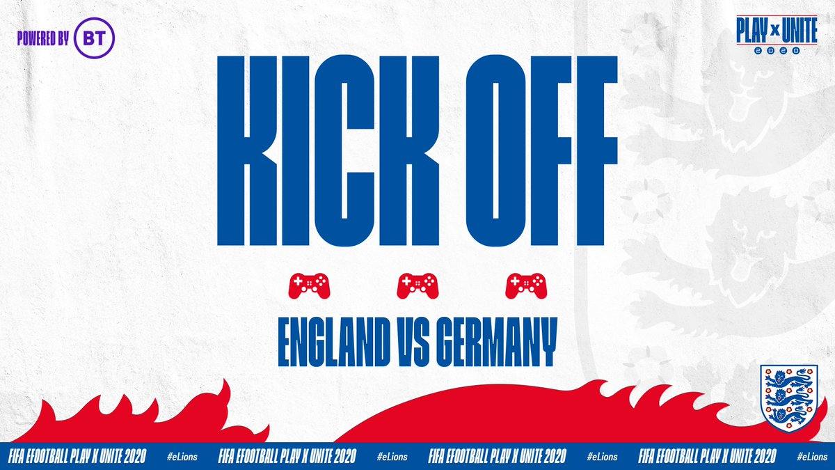 Let's go, @HashtagTom_! 💪  We're under way in the first leg of our play-off against Germany.  Watch live 👉 https://t.co/sPcyYzec6j https://t.co/5l9kll5y8r