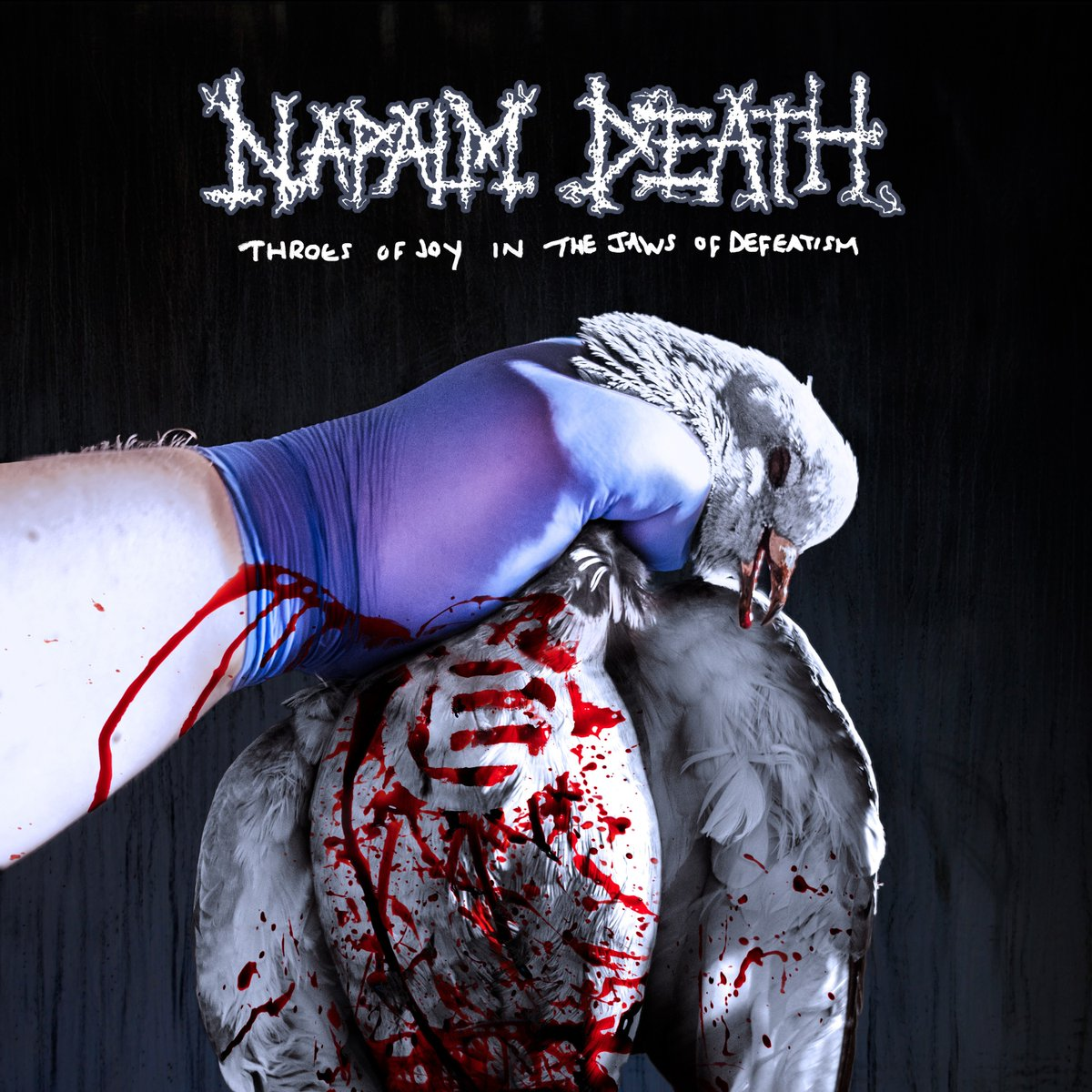 """🤘@officialND announce a new album  """"Throes of Joy in the Jaws of Defeatism""""!   UK #Grindcore pioneers #NAPALMDEATH are delighted to announce their upcoming studio album release #ThroesOfJoyInTheJawsOfDefeatism, to be released on September 18th, 2020!!  #metal #NewMusic"""