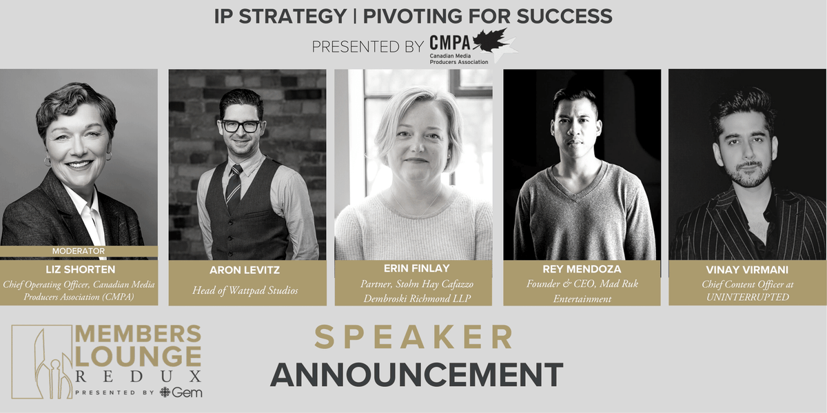 Join us on July 14 for IP STRATEGY | PIVOTING FOR SUCCESS pres. by @The_CMPA where our panelists will explore building your IP strategy to capitalize on emerging opportunities & share insights on adapting to the current market.   Want to know more? Visit: https://t.co/SGLjumtZbJ https://t.co/vC8s1wonO3