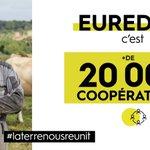 Image for the Tweet beginning: Plus de 20 000 #agriculteurs