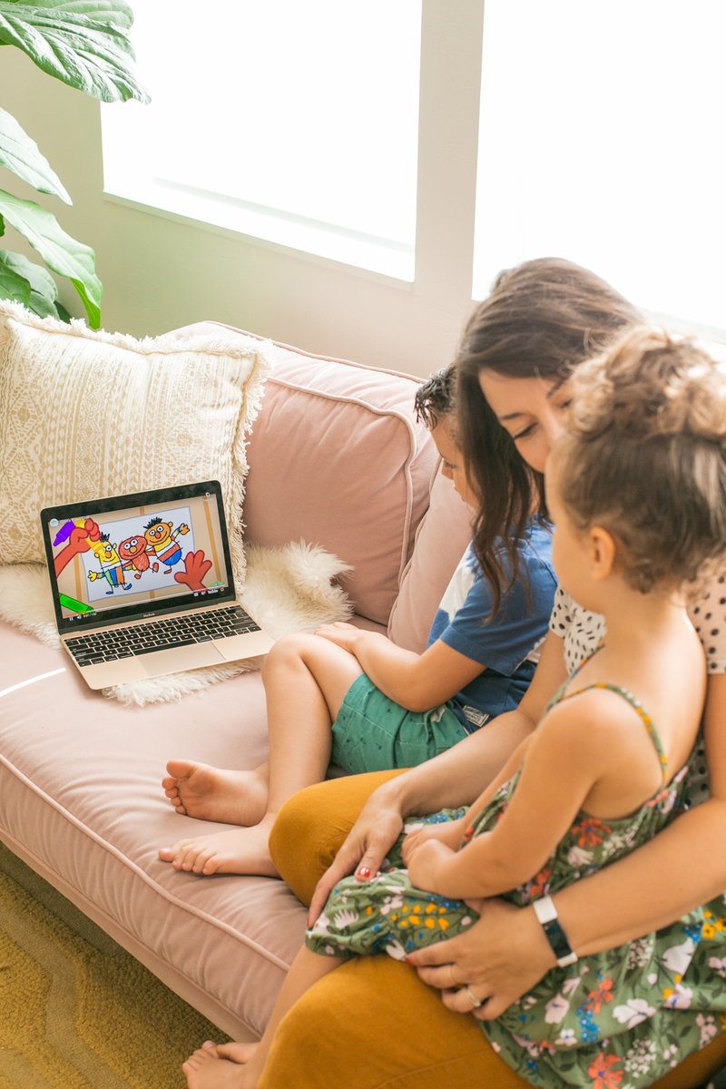 #ad Our kids are craving connection right now. Thanks for these ideas @ATTImpact @SesameWorkshop! #ATTImpact
