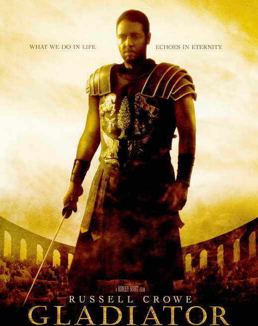 """Cinematic #WednesdayWisdom   """"Falling down is how we grow. Staying down is how we die."""" —Maximus 